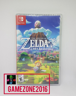 The Legend Of Zelda Links Awakening * Nuevo * Fisico Switch
