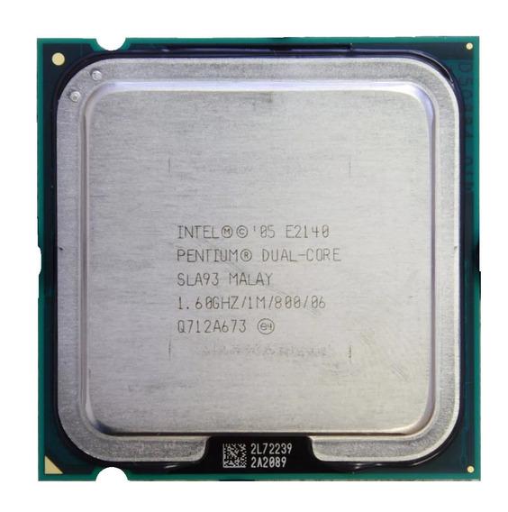 Processador Intel Dual Core E2140 Pentium 1.60ghz 1m