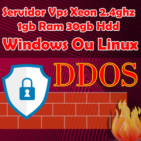 Servidor Vps Xeon 2.4ghz 1gb Ram 30gb - Liberação Imediata