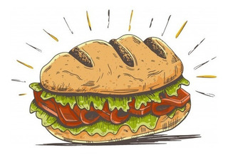 Sandwich De Milanesa Con Fritas