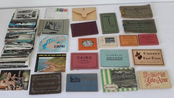 Postales Antiguas Ciudades Viaje Cairo Jerusalem Bologna