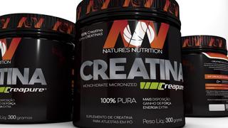 Creatina 300g Creapure Monohidratada Natures Nutrition