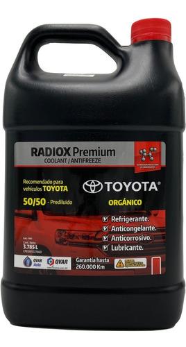 Refrigerante Para Toyota Rojo Q-var Somos Tienda Física