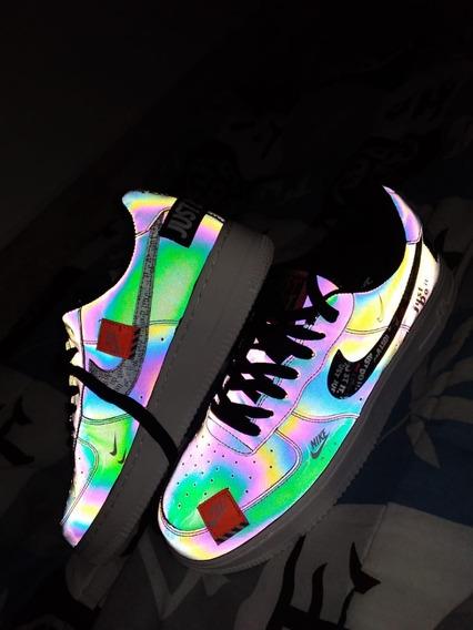 Tênis Nike Air Force 1 Just Do It Refletivo (sem Juros)