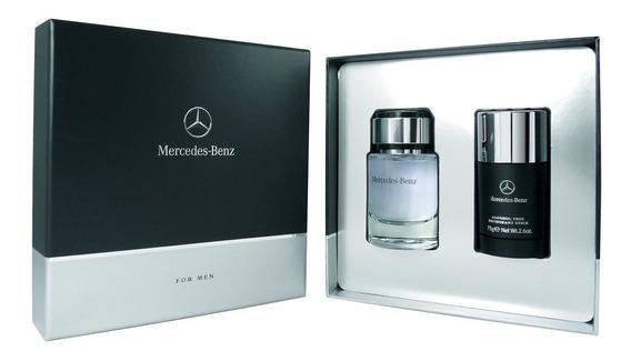 Perfume Importado Hombre Mercedes-benz Edt 75 Ml + Deo Stick