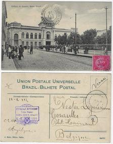Bahia 1912 Cartão Postal Foto Edifício Do Senado Salvador