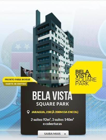 Apartamento À Venda No Bairro Bela Vista Em Porto Alegre/rs - Squarepark-1001