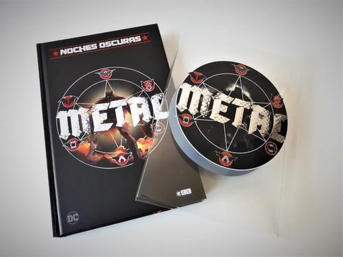 Dc Noches Oscuras Metal Edición Deluxe A 239 Soles