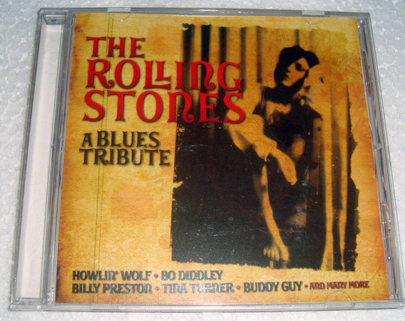 The Rolling Stones A Blues Tribute Cd Argentino / Kktus