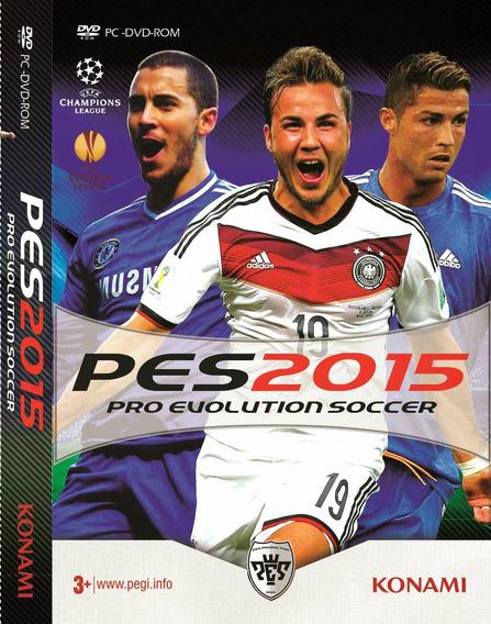 Pes-pro Evolution Soccer 2015 Pc Original Frete Gratis!