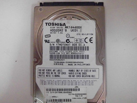 Hd 160gb Toshiba Mk1646gsx *defeito