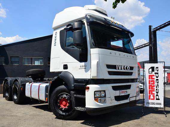 Iveco Stralis 480 6x4 2014 Aut Volvo Fh 440 420 460 Fh500 Fm
