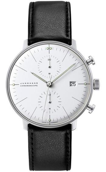 Reloj Junghans Max Bill Chronoscope Original Jh027460000