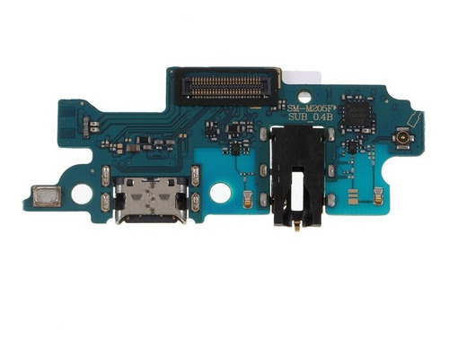 Conector Carga Usb P/ Galax M20 + Microfone + Jack P2