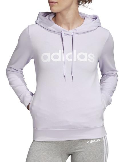 Buzo adidas Training W Essential Linear Mujer Li