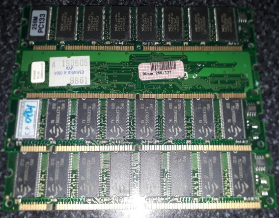 Memorias Ram Pc133 4x256mb