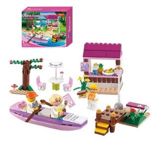 Lego Niñas Fiesta En El Rio Juguetes 198pz Legos Juguete 016