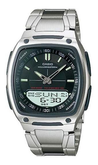 Relógio Casio Masculino Telememo Aw-81d-1avdf