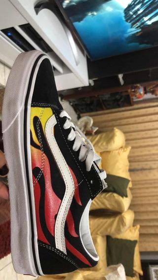 Zapatillas Vans Modelo¿old Skool Flame¿nuevas