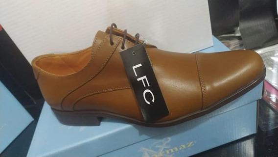 Zapatos Hombre Cuero Art 1551 39 Al 45 F