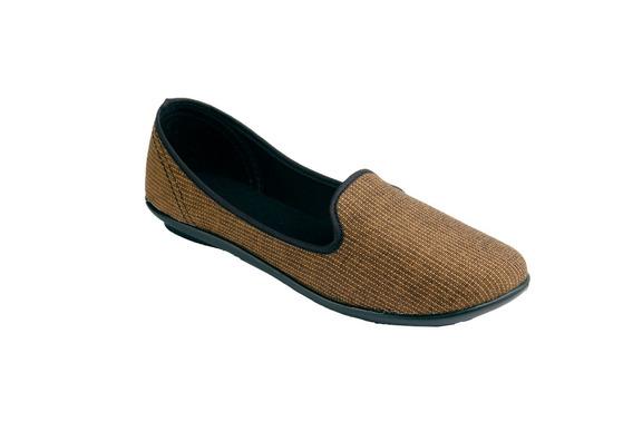 Tovaco Zapato Casual Flats Para Mujer Color Beige