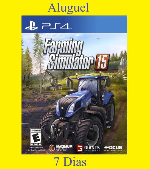 Farming Simulator 15 - Ps4 - Aluguel 7 Dias