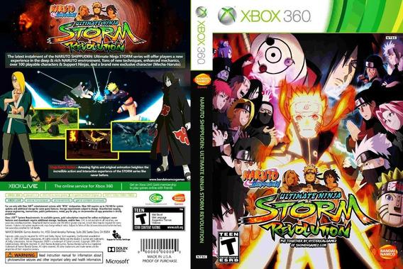 Naruto Revolution Xbox 360 Destravado Midia Fisica