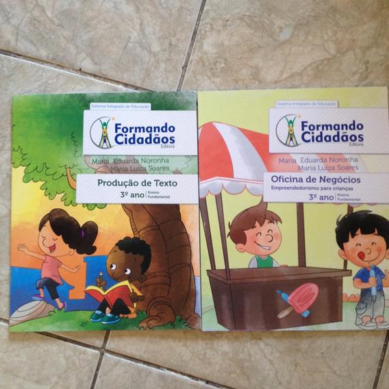 2 Livros Formando Cidadãos Kit C 3ª Ano Ens. Fundamental C2