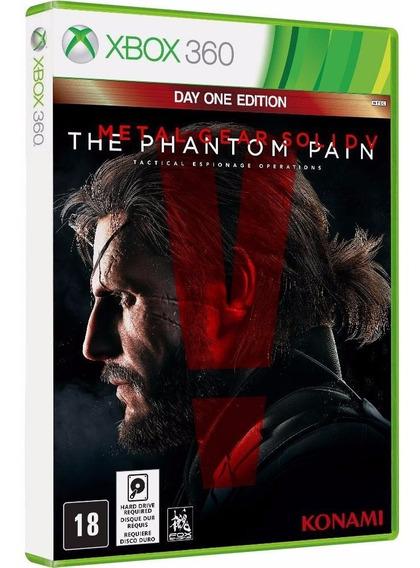 Metal Gear Solid 5 V The Phantom Pain - Xbox 360 Midi Fisica