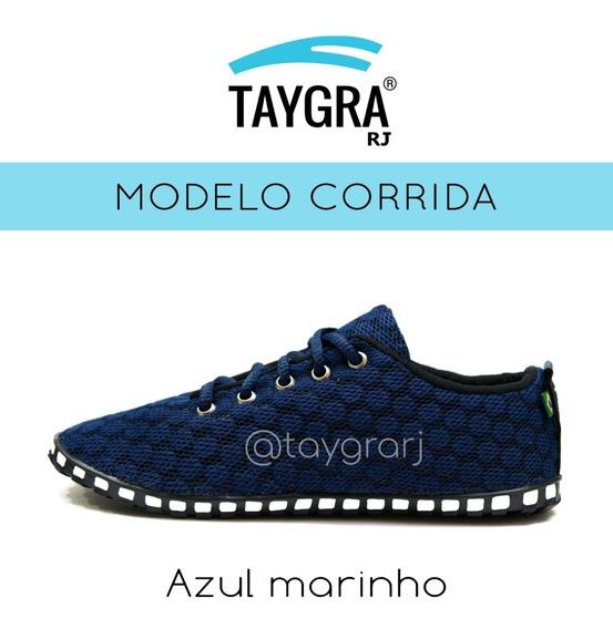 Tenis Taygra Modelo Comfort Azul Marinho
