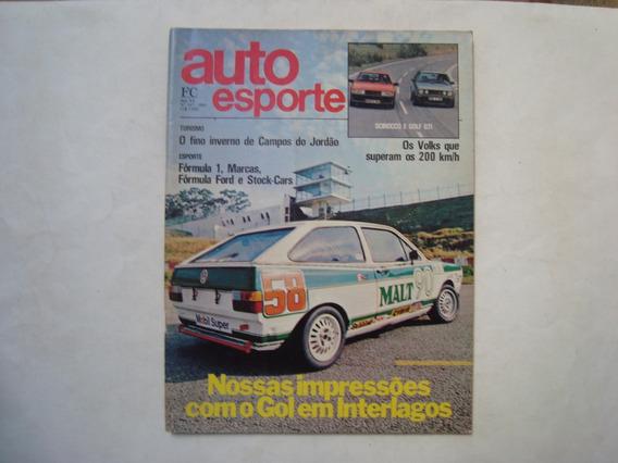 Revista Auto Esporte N. 247 - Gol Em Interlagos