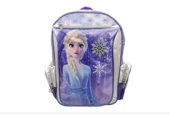 Mochila De Espalda, 16 Pulgadas, Elsa Frozen. Envio Gratis!