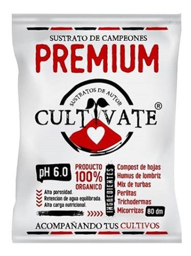Sustrato Cultivate Premium 80l Humus Tierra Micorrizas
