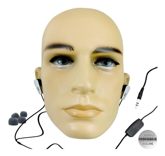 Fone De Ouvido Importado Com Controle De Volume Jwin Usa