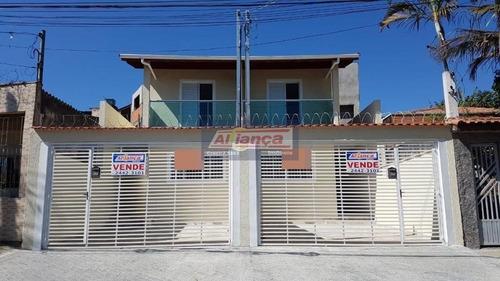 Sobrado Com 4 Dormitórios À Venda, 110 M² Por R$ 450.000,00 - Jardim Presidente Dutra - Guarulhos/sp - Ai19180