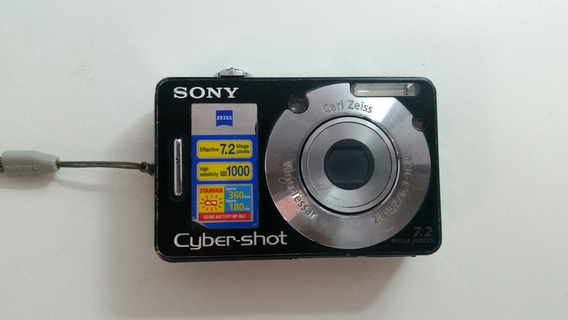 Sucata Camera Digital Sony Cyber-shot Dsc-w70
