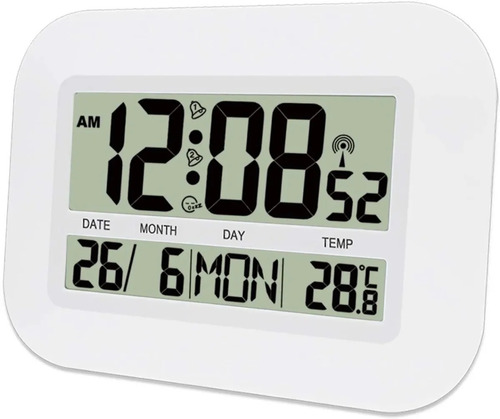 Imagen 1 de 10 de Reloj Digital De Pared Escritorio Moderno Numeros Grandes