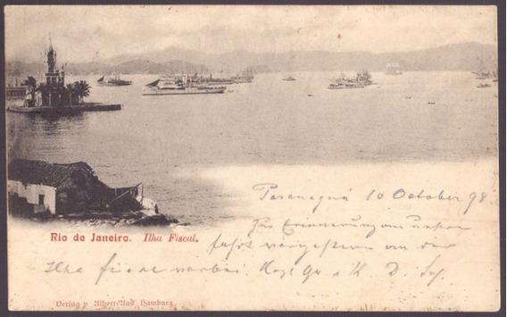 Paranaguá Para Desterro - Santa Catarina - 1898 - 25091933