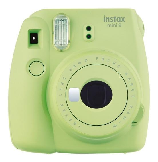 Câmera Fotográfica Fujifilm Instax Mini 9 Verde Lima