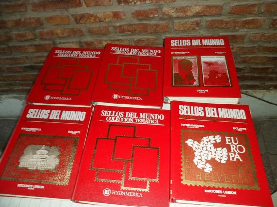Colección Sellos Del Mundo De Ediciones Urbion - Hispamerica