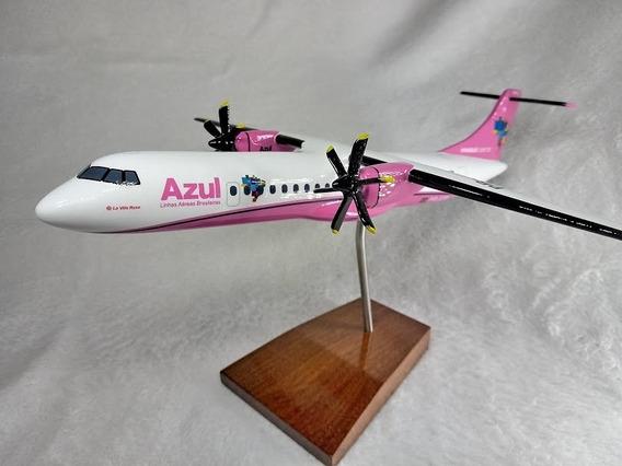 Aviao Atr-72-600 - Azul Linhas Aereas - Outubro Rosa - Maque