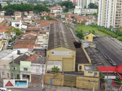 Galpão À Venda, 1478 M² Por R$ 6.700.000 - Tatuapé - São Paulo/sp - Ga0306