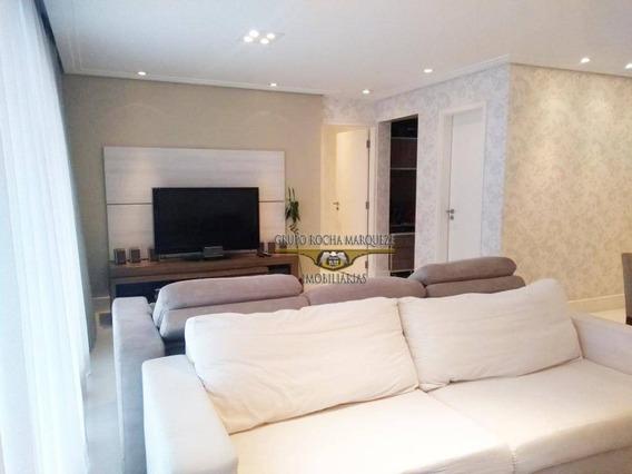 Apartamento Com 3 Dormitórios À Venda, 134 M² Por R$ 1.250.000,00 - Belém - São Paulo/sp - Ap1940
