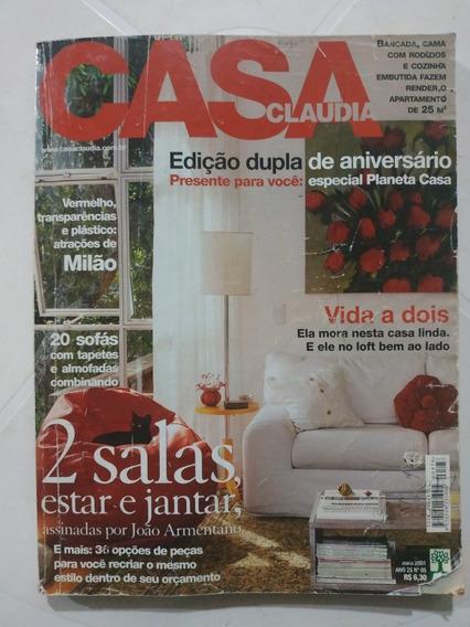 Revista Casa Claudia - Maio 2001 - Ano 25 N° 5
