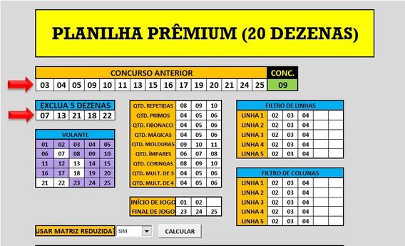 Planilha De Desdobramento Lotérico Para Lotofácil