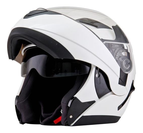 Casco Moto Kyt Rebatible Doble Visor Motoscba