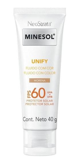 Protetor Solar Neostrata Minesol Unify Cor Média Fps 60 40g
