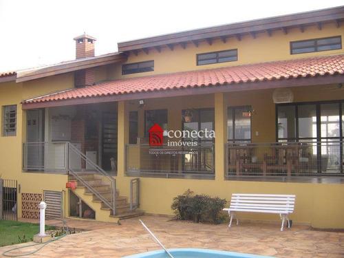 Casa Com 3 Dormitórios À Venda, 470 M² Por R$ 1.800.000,00 - Jardim America - Paulínia/sp - Ca0638