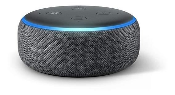 Smart Speaker Amazon Alexa Echo Dot 3 Português Promoção