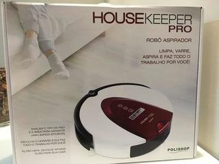 Robô Aspirador Housekeeper Pro Polishop - Frete Grátis